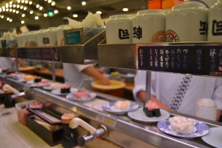 kaiten sushi tokio