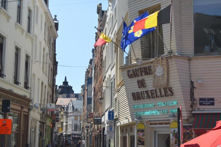 belgialaiset vohvelit brysseli