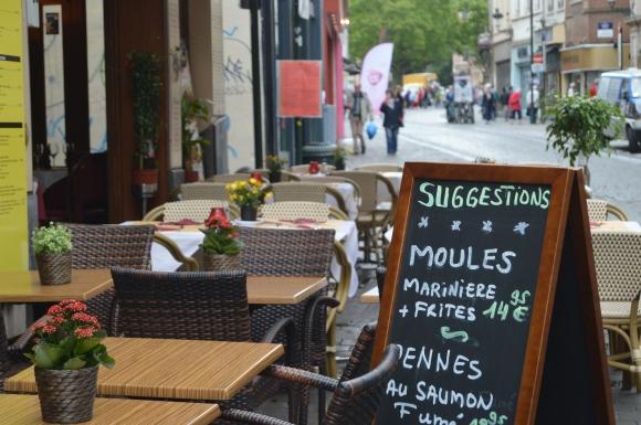 moules marinieres belgia brysseli sinisimpukat